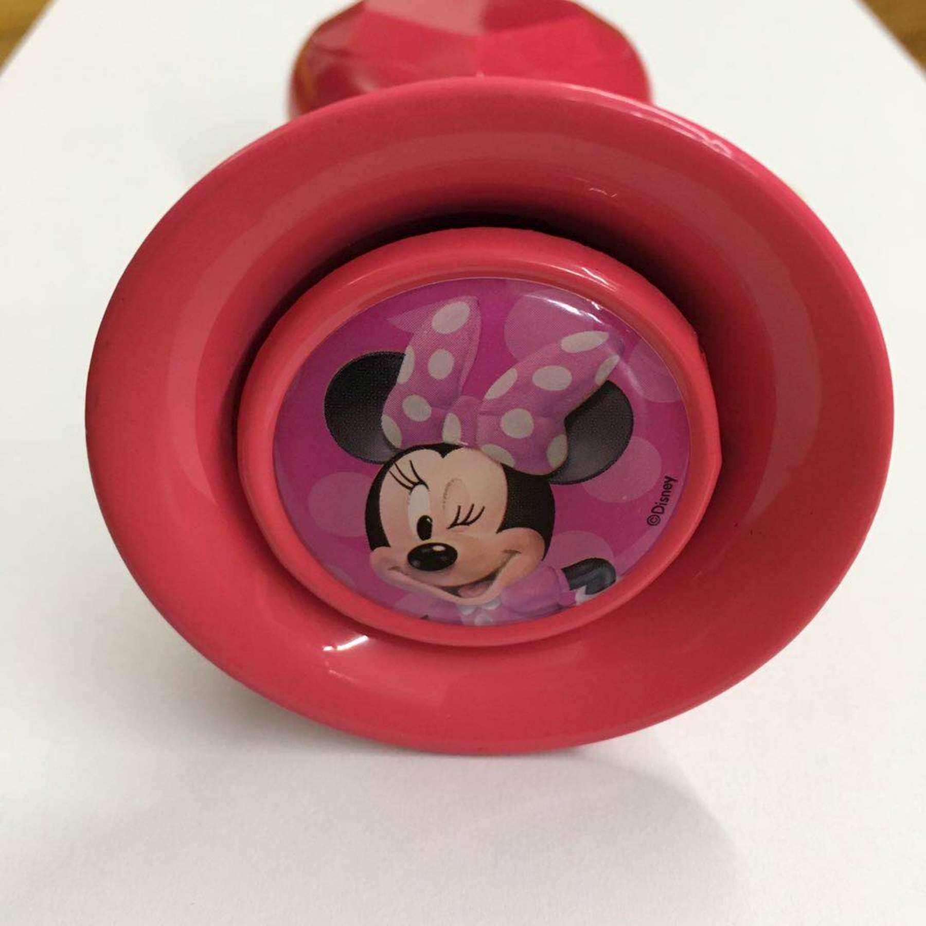 Bocina Minnie Mouse - vista bocina
