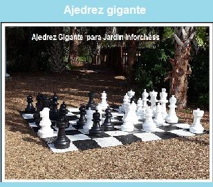 Tienda especializada en ajedrez inforchess for Ajedrea de jardin