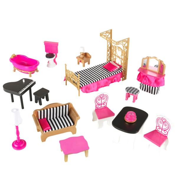 Imagen de todos los accesorios de kidkraft casa de muñecas bella 65944 width=