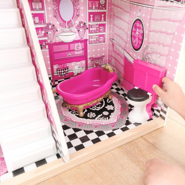 Detalle del baño de kidkraft casa de muñecas bella 65944 width=