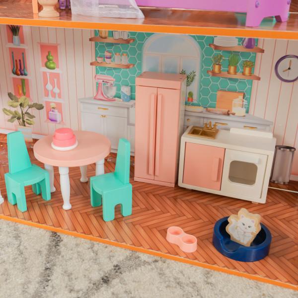 Kidkraft Casa De Muñecas Camila 65986 - cocina