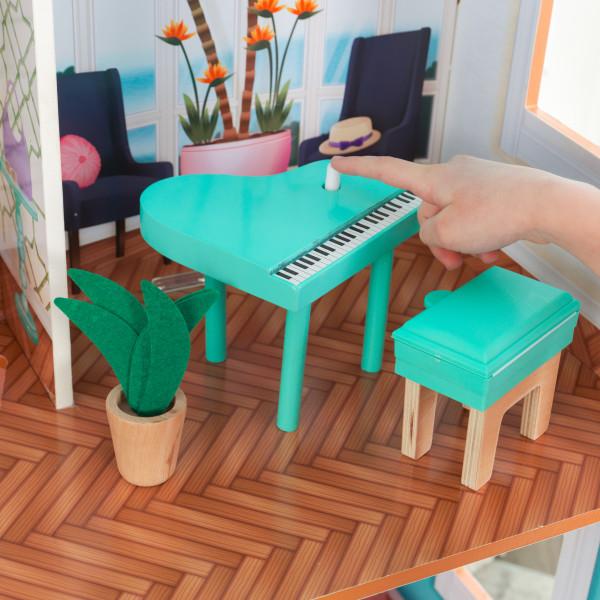 Kidkraft Casa De Muñecas Camila 65986 - piano