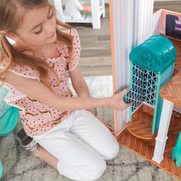 Kidkraft Casa De Muñecas Camila 65986 - ascensor