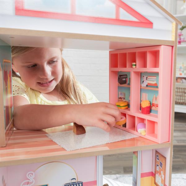 kidkraft casa de muñecas Charlie 10064 - estanteria almacenaje