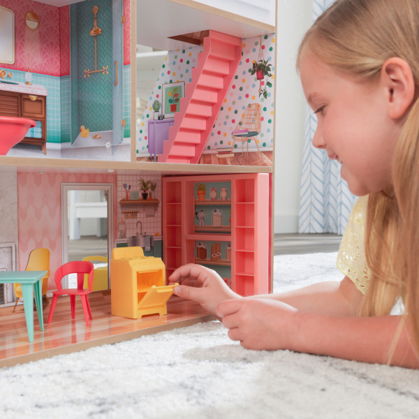 kidkraft casa de muñecas Charlie 10064 - horno almacenaje