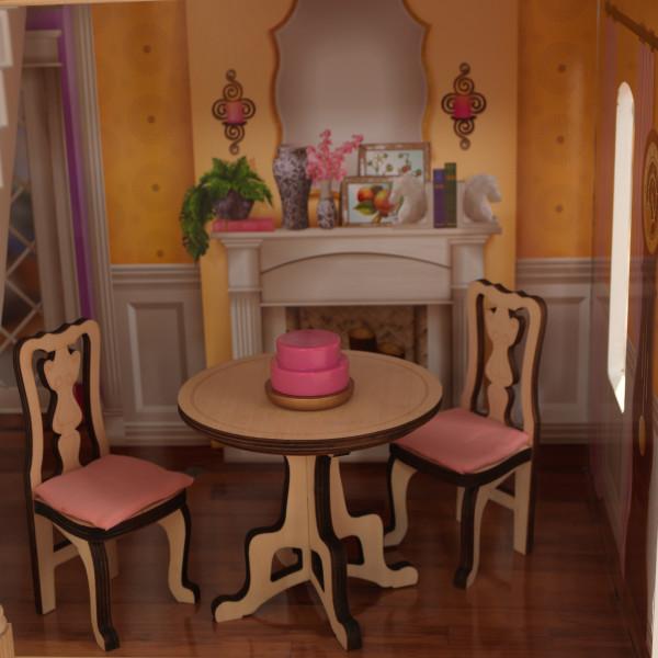 Detalle de mesas y silla de kidkraft casa charlotte 65956 width=