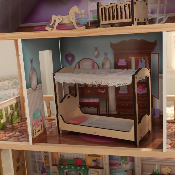 Detalle dormitorio de kidkraft casa charlotte 65956 width=