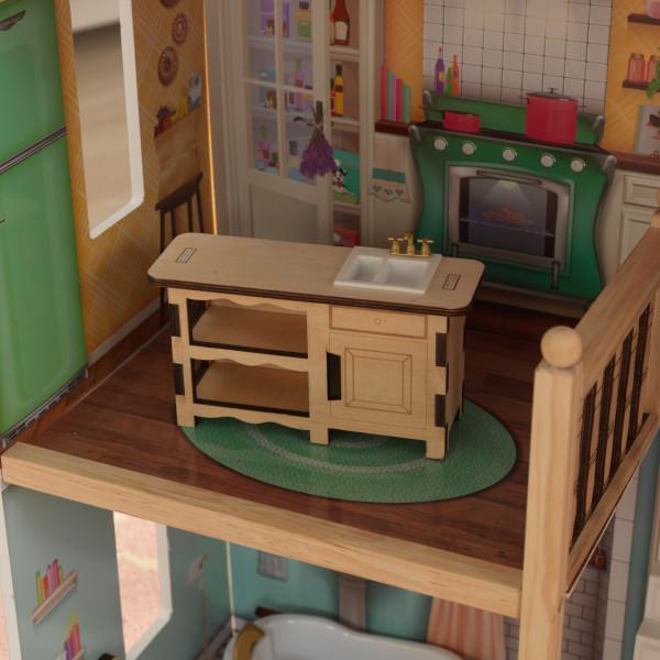Detalle de cocina kidkraft casa charlotte 65956 width=