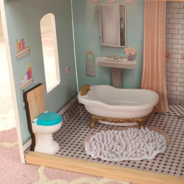 Detalle del baño de kidkraft casa charlotte 65956 width=
