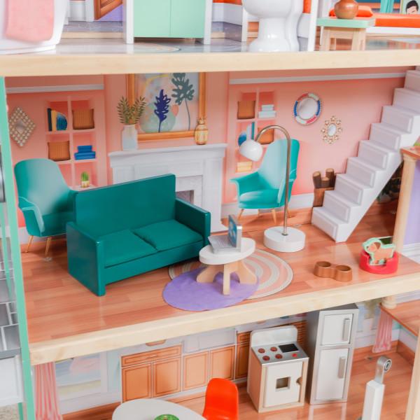 kidkraft casa de muñecas Dahlia 65987 - comedor