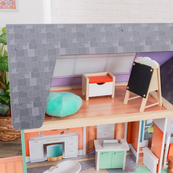 kidkraft casa de muñecas Dahlia 65987 - atico