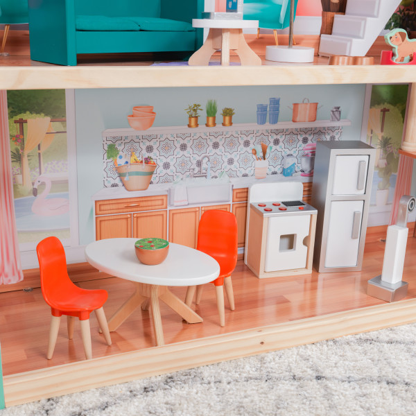 kidkraft casa de muñecas Dahlia 65987 - cocina