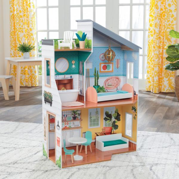 kidkraft casa de muñecas Emily 65988 - vista casa