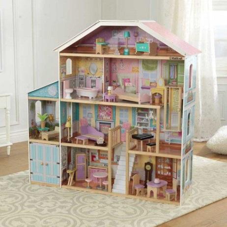 kidkraft casa de muñecas gran mansion con vistas 65954 width=