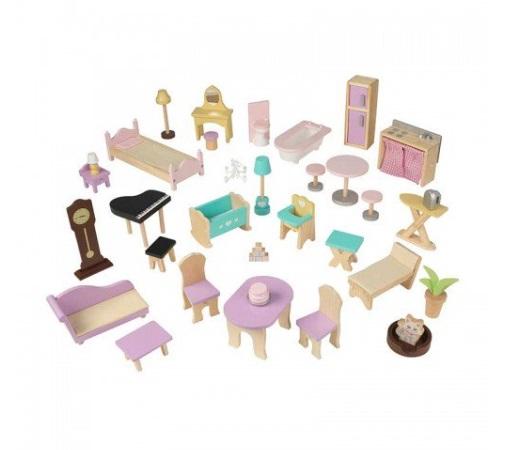 Accesorios de kidkraft casa de muñecas gran mansion con vistas 65954 width=