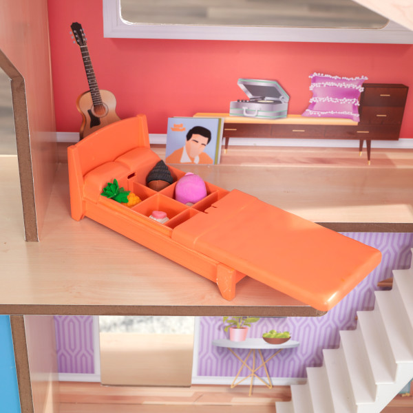 Kidkraft Casa De Muñecas Hazel 65990 - vista cama