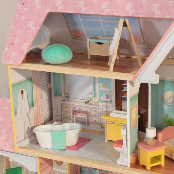 Kidkraft Mansión Lola 65958 - vista habitaciones