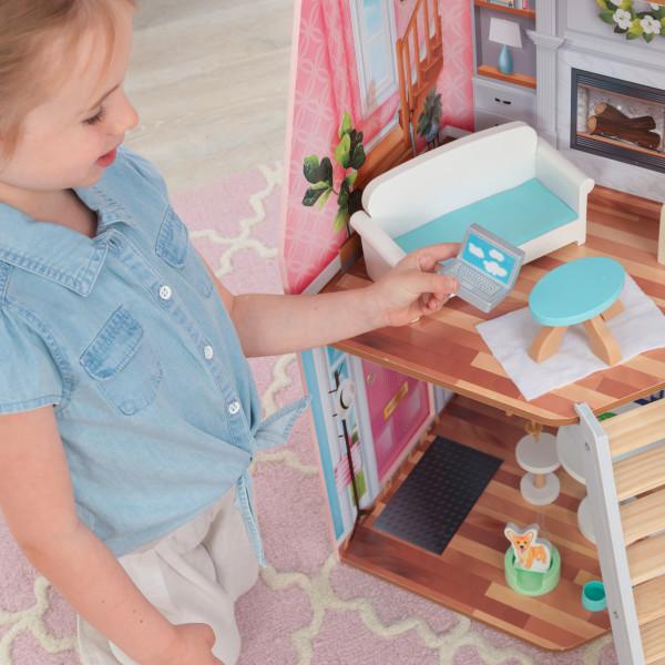 kidkraft casa de muñecas Matilda 65983 - sala de estar
