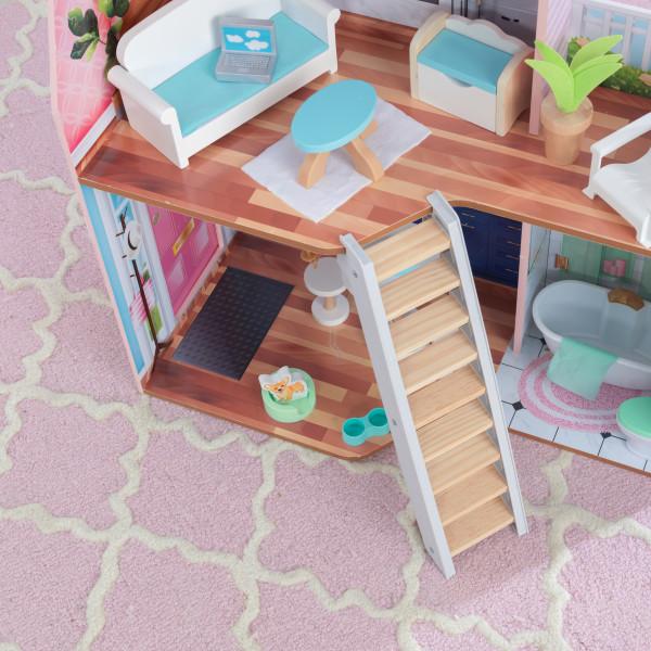 kidkraft casa de muñecas Matilda 65983 - escalera