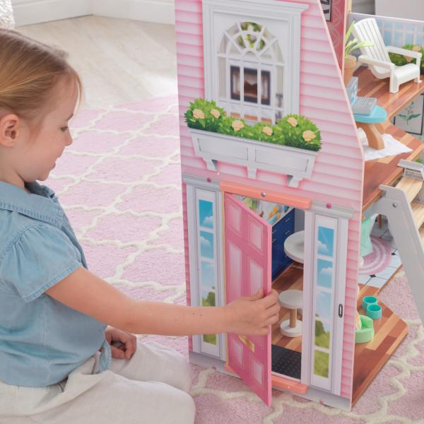 kidkraft casa de muñecas Matilda 65983 - puerta funcional
