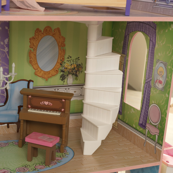 kidkraft casa de muñecas Veronica 65968 - escalera