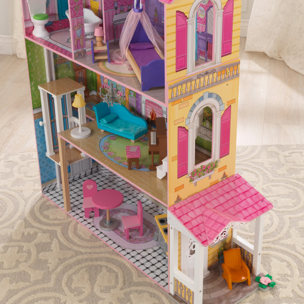 kidkraft casa de muñecas Veronica 65968 - porche