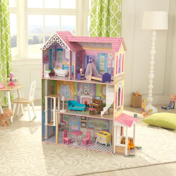 kidkraft casa de muñecas Veronica 65968 - vista casita