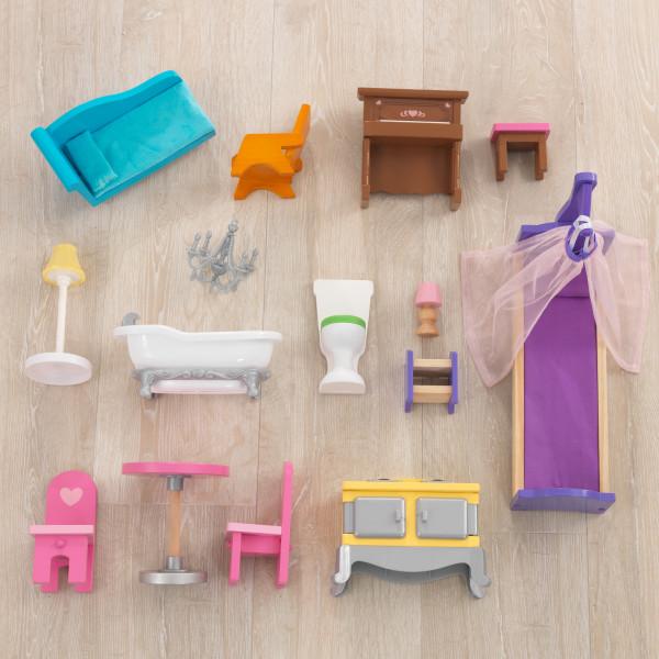 kidkraft casa de muñecas Veronica 65968 - muebles y accesorios