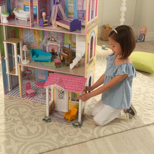 kidkraft casa de muñecas Veronica 65968 - zoom porche extraible