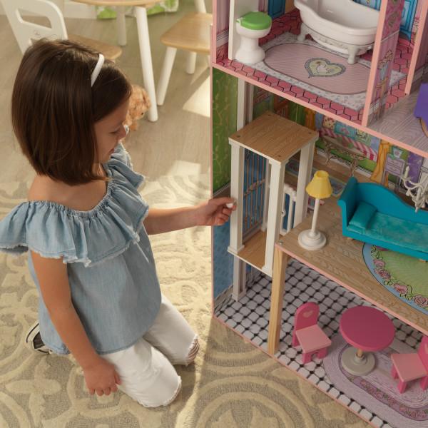 kidkraft casa de muñecas Veronica 65968 - ascensor