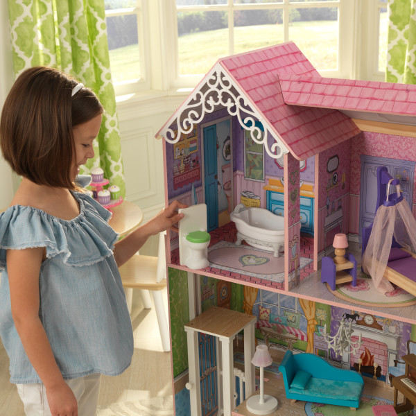 kidkraft casa de muñecas Veronica 65968 - baño