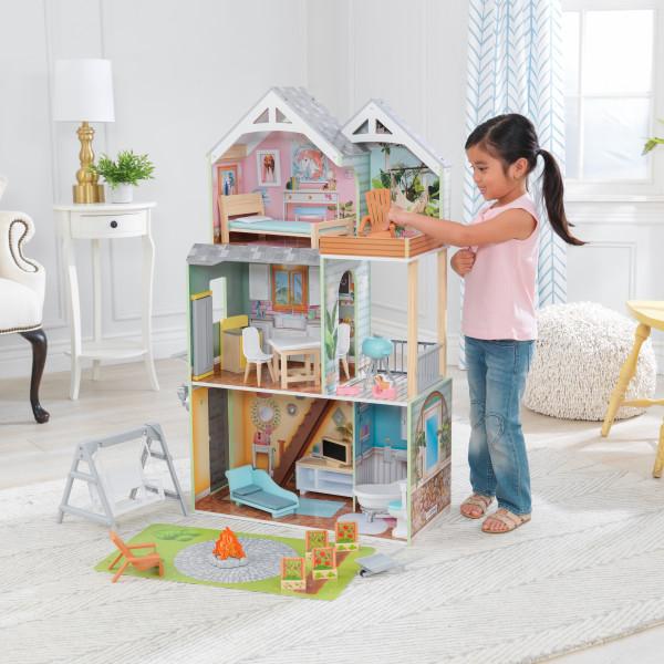kidkraft casa de muñecas Hallie 65980