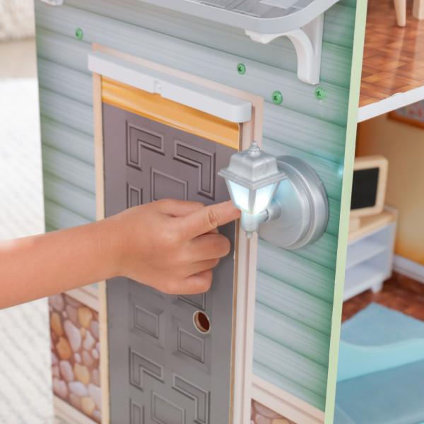 kidkraft casa de muñecas Hallie 65980 - farolillo
