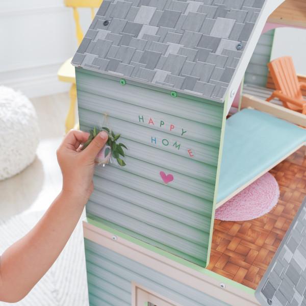 kidkraft casa de muñecas Hallie 65980 - pared
