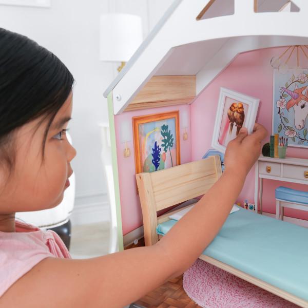 kidkraft casa de muñecas Hallie 65980 - marco