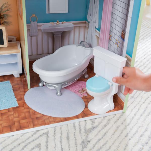 kidkraft casa de muñecas Hallie 65980 - baño
