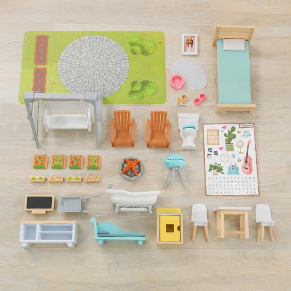 kidkraft casa de muñecas Hallie 65980 - accesorios