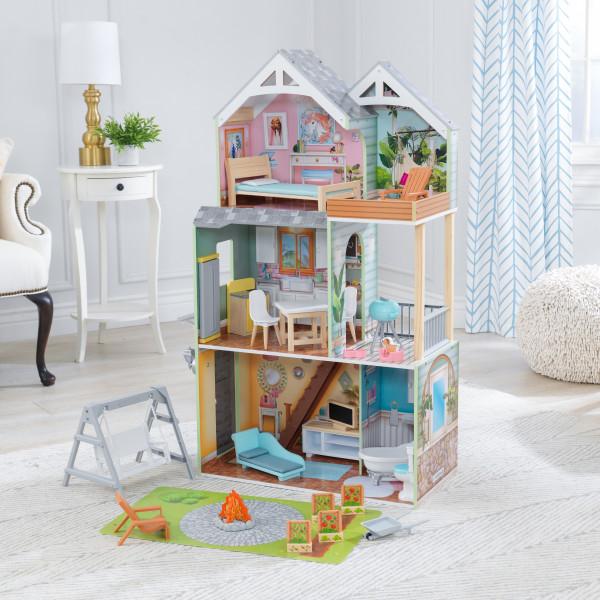 kidkraft casa de muñecas Hallie 65980 - Vista casita