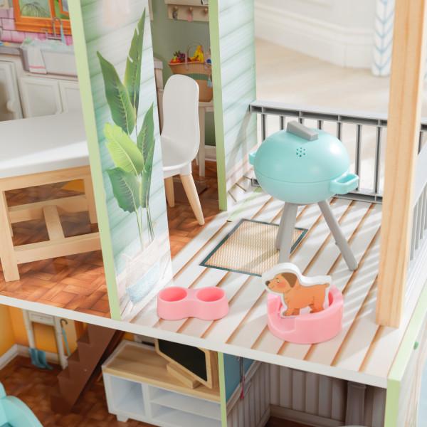 kidkraft casa de muñecas Hallie 65980 - mascota