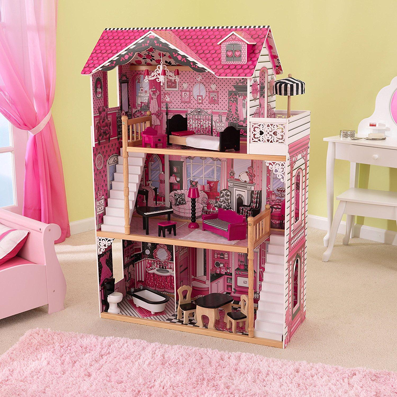 kidkraft casa de muñecas 65109 amelia - 2 escaleras
