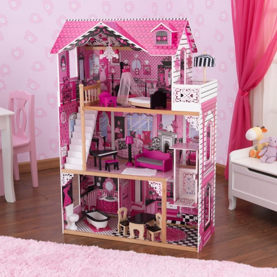 kidkraft casa de muñecas amelia 65093 width=