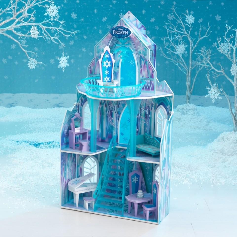 Kidkraft casa de muñecas castillo de hielo 65881 width=