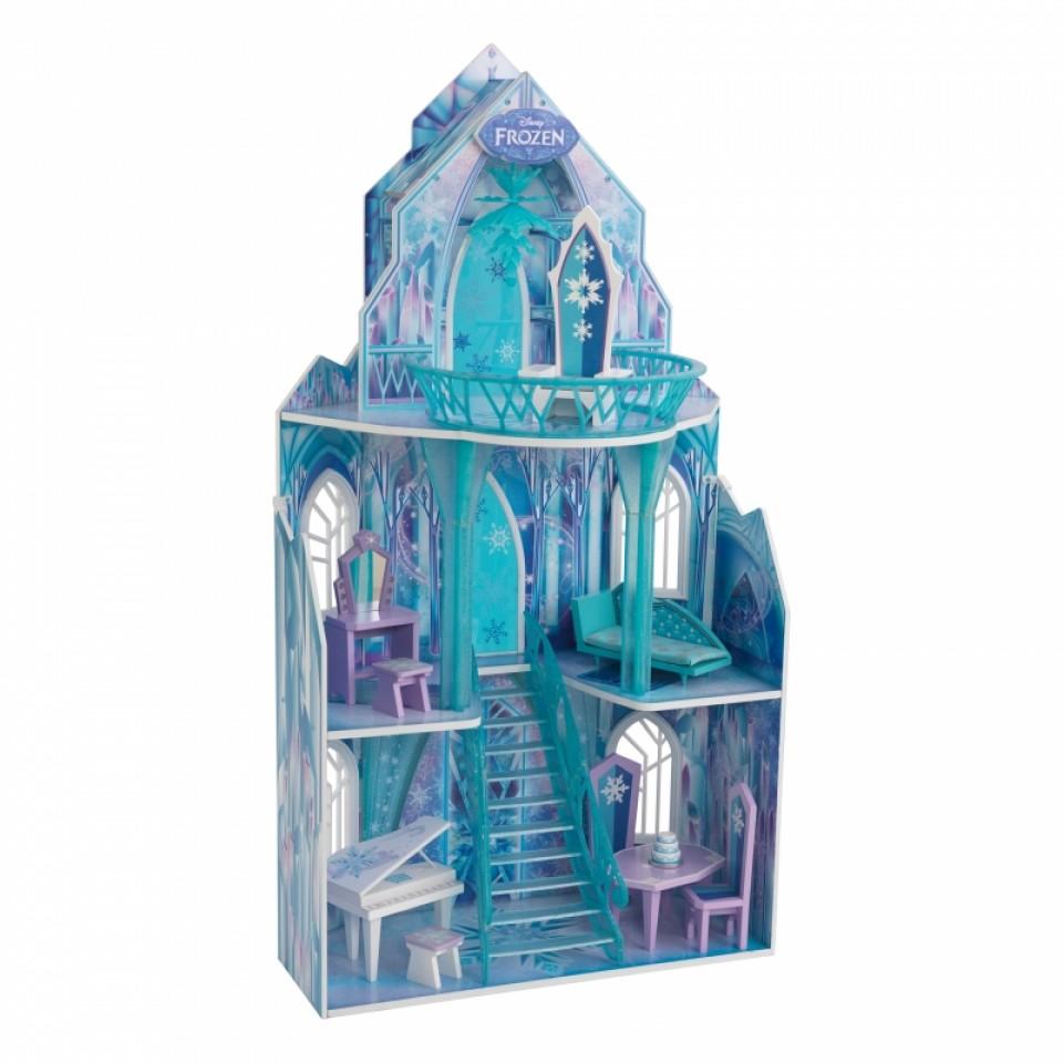 Precisa imagen de Kidkraft casa de muñecas castillo de hielo 65881 width=