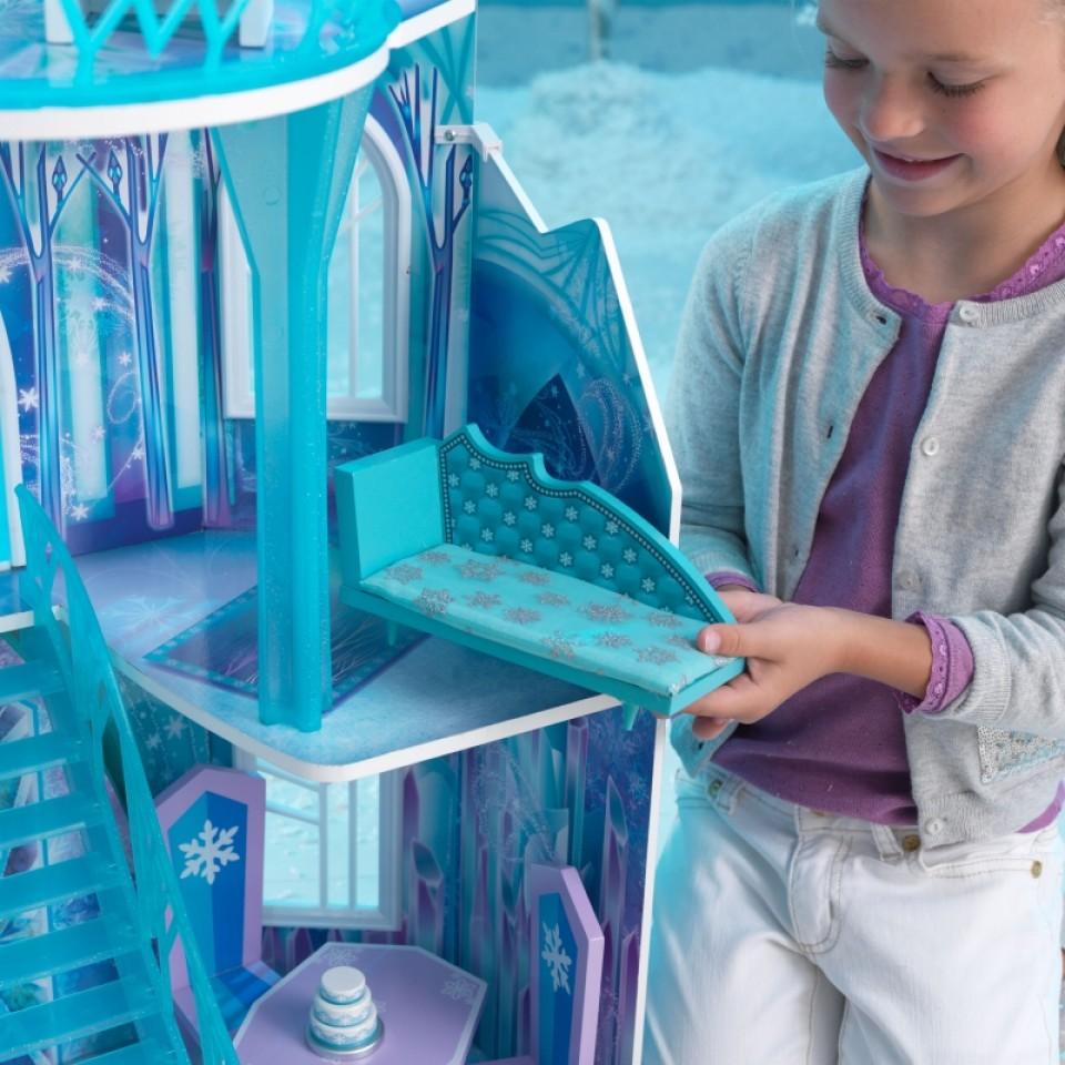 Detalle del accesorio cama de Kidkraft casa de muñecas castillo de hielo 65881 width=