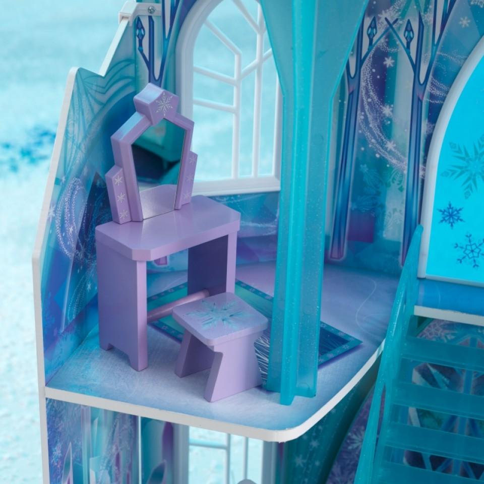 Detalle tocador de Kidkraft casa de muñecas castillo de hielo 65881 width=