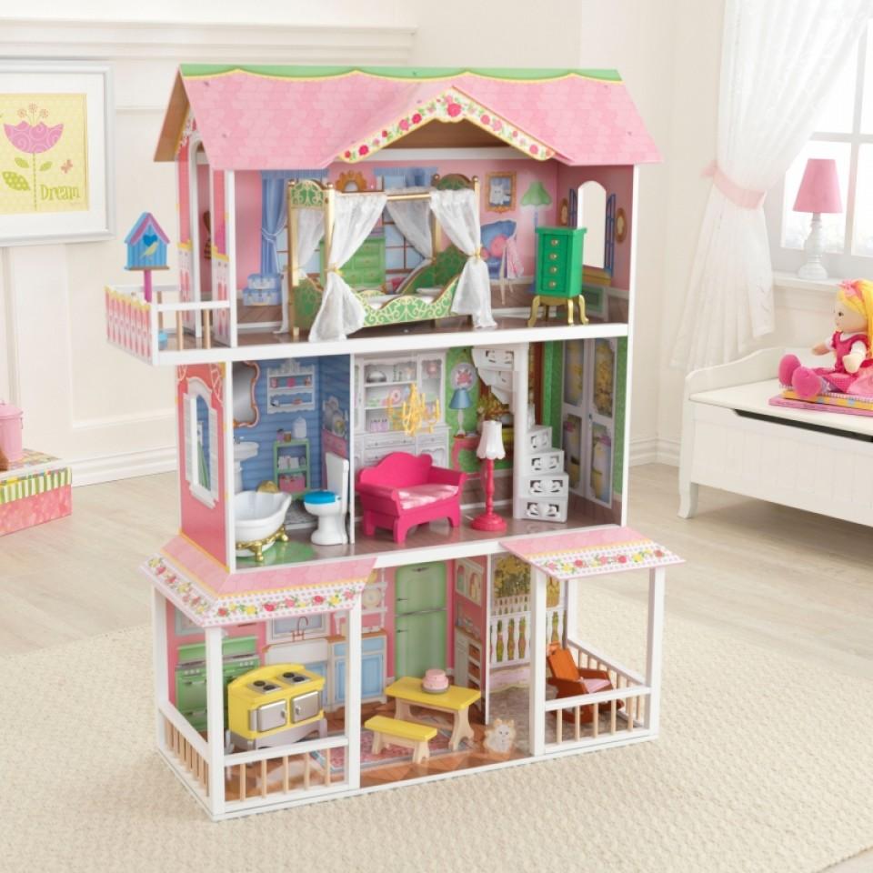 Kidkraft casa de muñecas dulce savannah 65935 width=