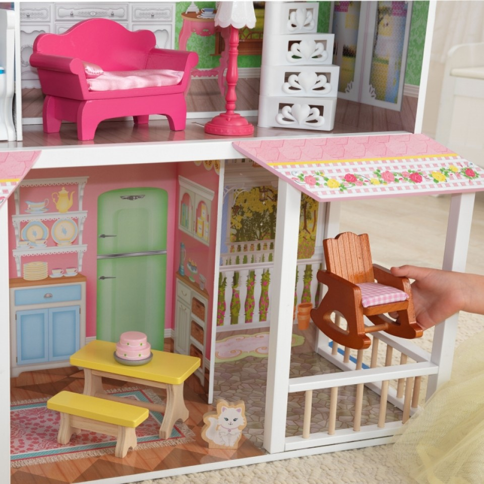 Detalle de la parte inferior de Kidkraft casa de muñecas dulce savannah 65935 width=