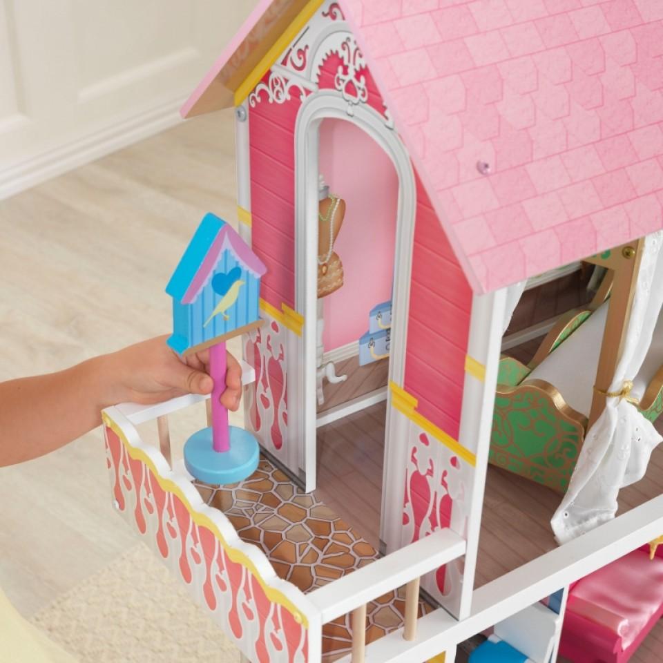 Detalle de jaula de pajarito de Kidkraft casa de muñecas dulce savannah 65935 width=