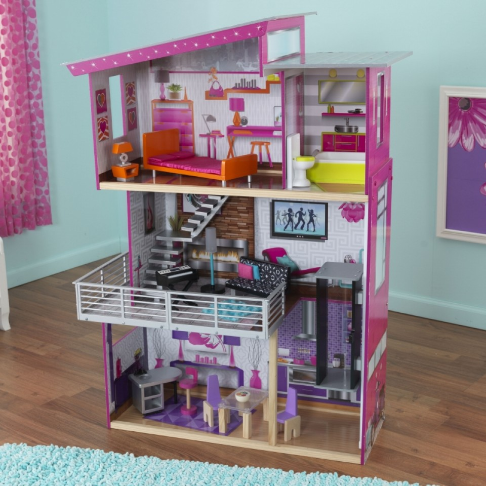 Kidkraft casa de muñecas luxury 65871