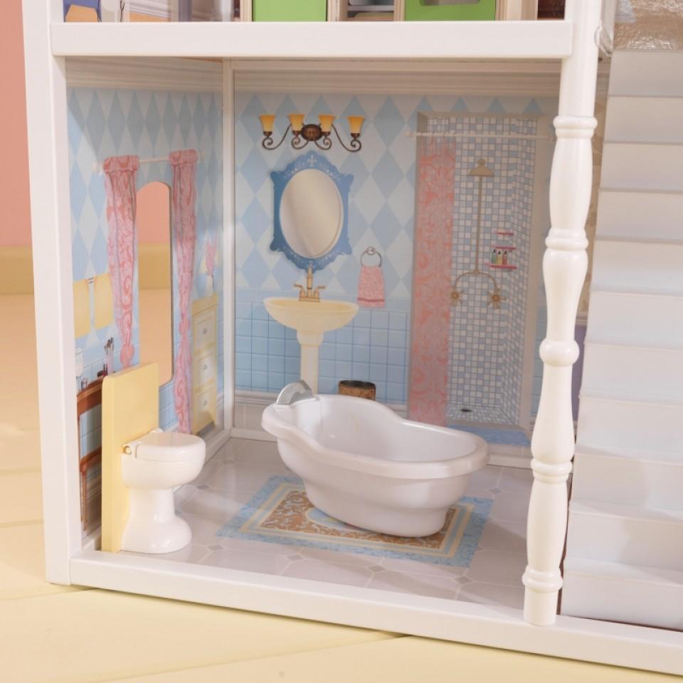 Detalle del baño de kidkraft casa de muñecas savannah 65023 width=